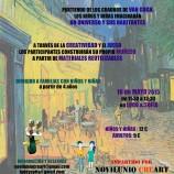 TALLER FAMILIAR DE CONSTRUCCIÓN DE MUÑECOS: VAN GOGH