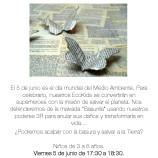 Actividad Día Mundial del Medio Ambiente, taller Ecokids