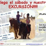 Excursión a caballo con niños en Madrid
