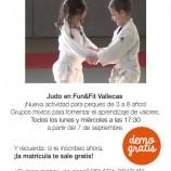 Clase gratis de Judo de 3 a 8 años.