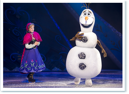 disney on ice madrid 2016