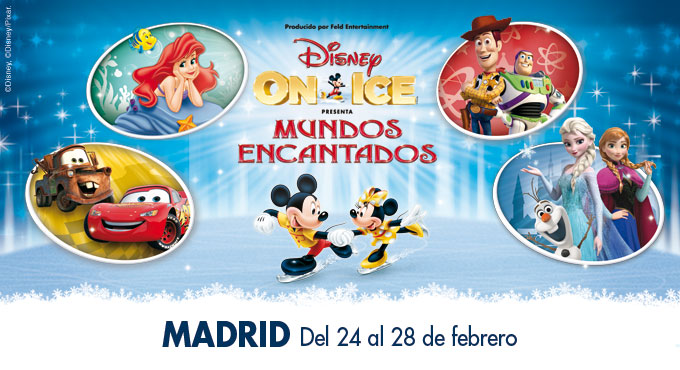 madrid disney ice 2016