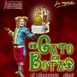 EL GATO CON BOTAS el Miaaaauuu-sical de teatro para niños en Madrid