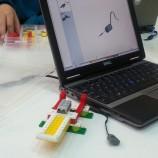 Taller de robótica bilingüe en Madrid para niños