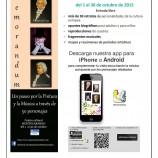 Exposición divulgativa sobre Historia de la Pintura y la Música