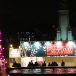 Mercado navideño en la Plaza de España Feria artesania