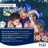 Actividades de Navidad en CC H2Ocio Rivas
