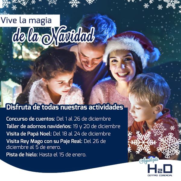 navidad h2ocio