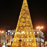 Abetos navideños en Madrid