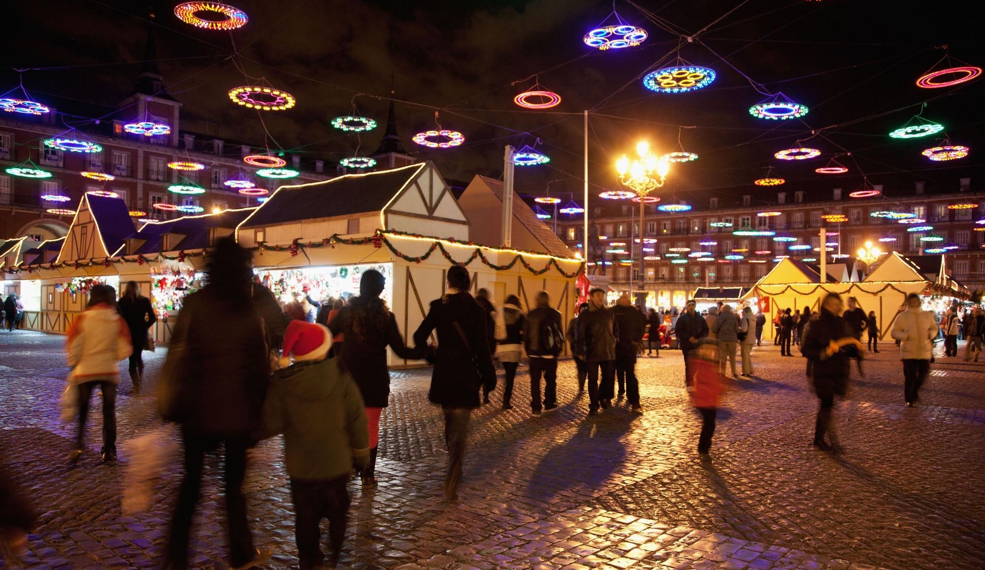 Horario mercadillo navide o de la plaza mayor madrid 2015 - Mercado de navidad en madrid ...