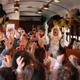 Vuelve el antiguo Tren de Navidad a Madrid
