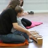 Talleres musicales para padres y bebés en Madrid