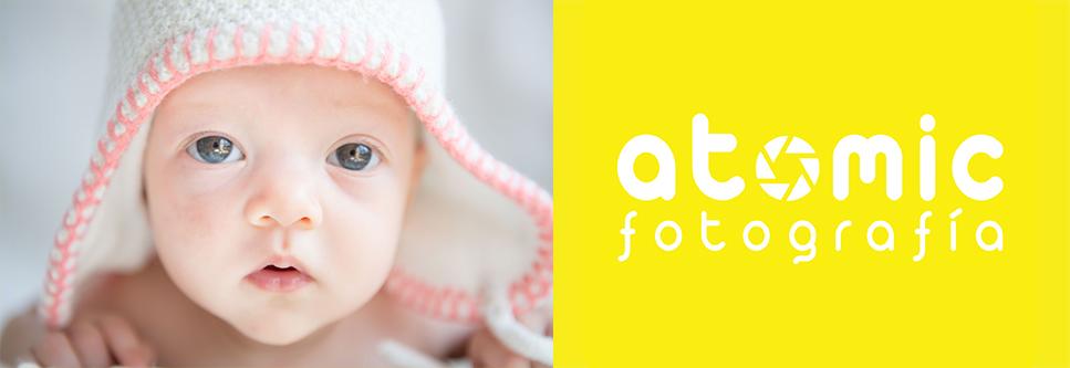 Atomic fotografía de estudio para bebés y recien nacidos