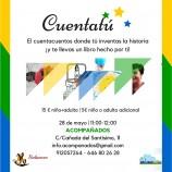 Cuentacuentos + juego en Madrid para niños