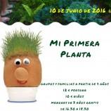 Taller Mi Primera Planta Con niños en Madrid