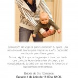 Sesión de yoga especial para bebés