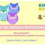 Taller inteligencia emocional espacio Kikirikí