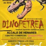 Dinopétrea, una aventura jurásica en Madrid a partir del 17 de Diciembre