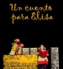 """""""Un cuento para Elisa"""" todos los domingos de febrero en la sala """"Bulubú"""""""