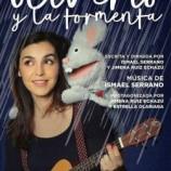 Ismael Serrano estrena su primer espectáculo  familiar, 'Oliverio y la tormenta', en el Teatro  Kamikaze