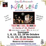 domingos de otoño, teatro para niños