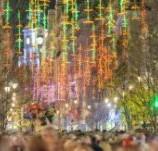 Alumbrado navideño en Madrid luces de navidad
