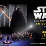 Star Wars en pantalla gigante y orquesta en vivo en Madrid