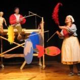 Teatro para  bebés en Tyl tyl con Sesá