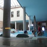 Balneario con niños, termas, y relax en familia