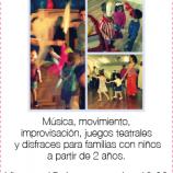 Teatro y Movimiento en Familia, taller Fun&Fit