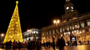 Árbol de navidad Madrid 2013