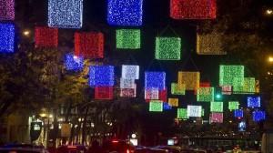 Encendido navideño Madrid 2013 2014 luces navidad